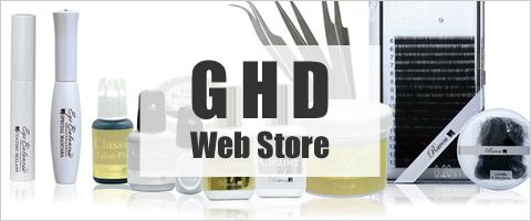 GHD Web Store|まつげエクステプロ用商材 オンラインショップ